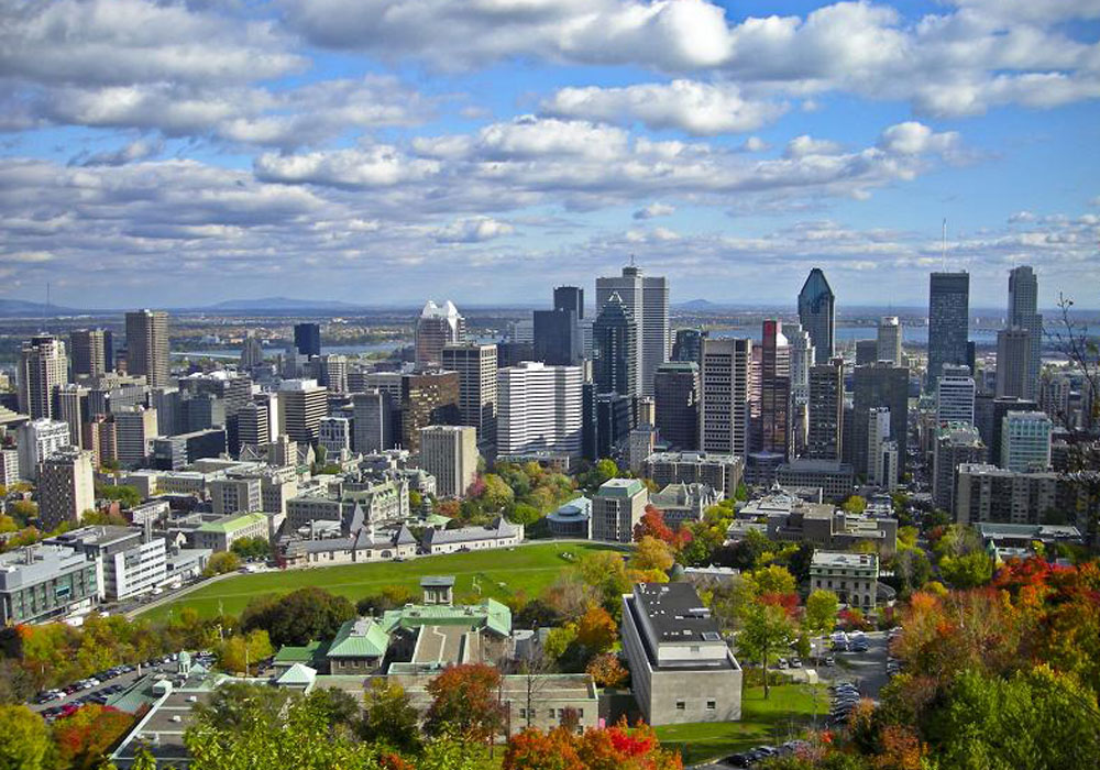 Montreal Aerial View