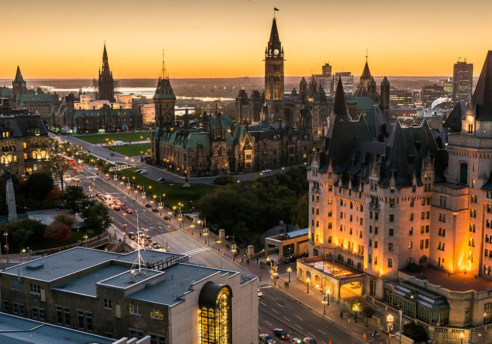 Ottawa Breath Taking Aerial View