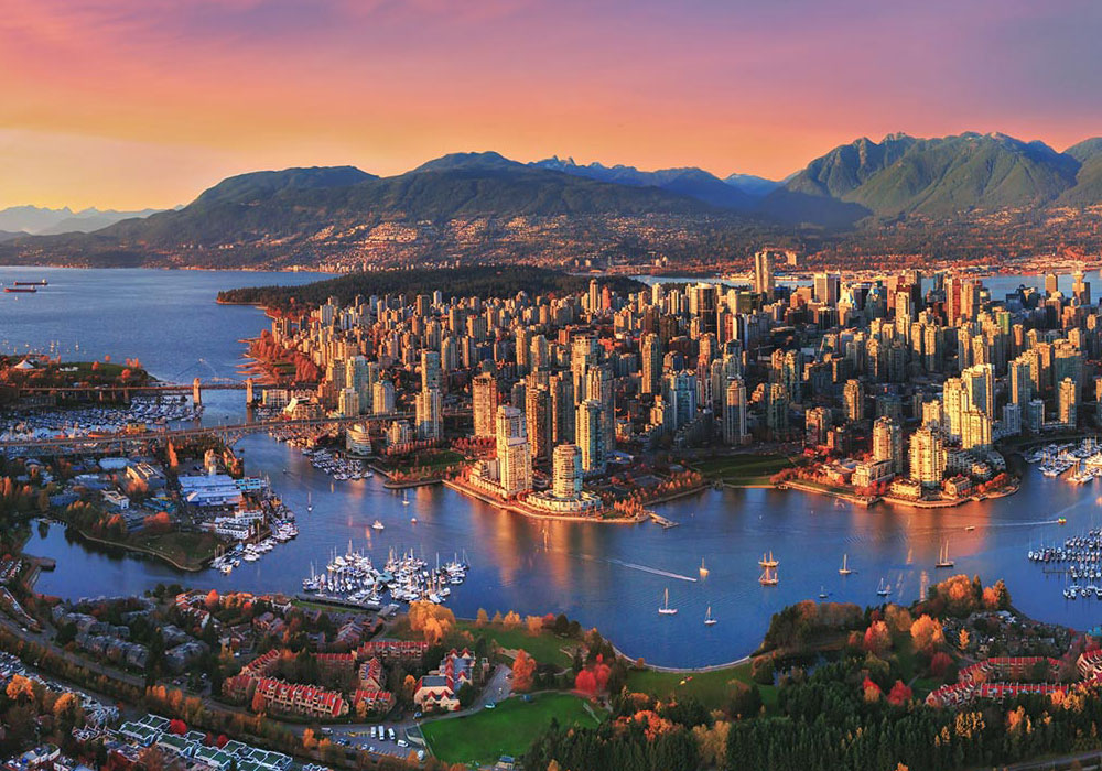 Vancouver Areal View